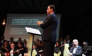 Bolu Belediyesi Köroğlu Türk Halk Müziği Korosu'ndan muhteşem konser