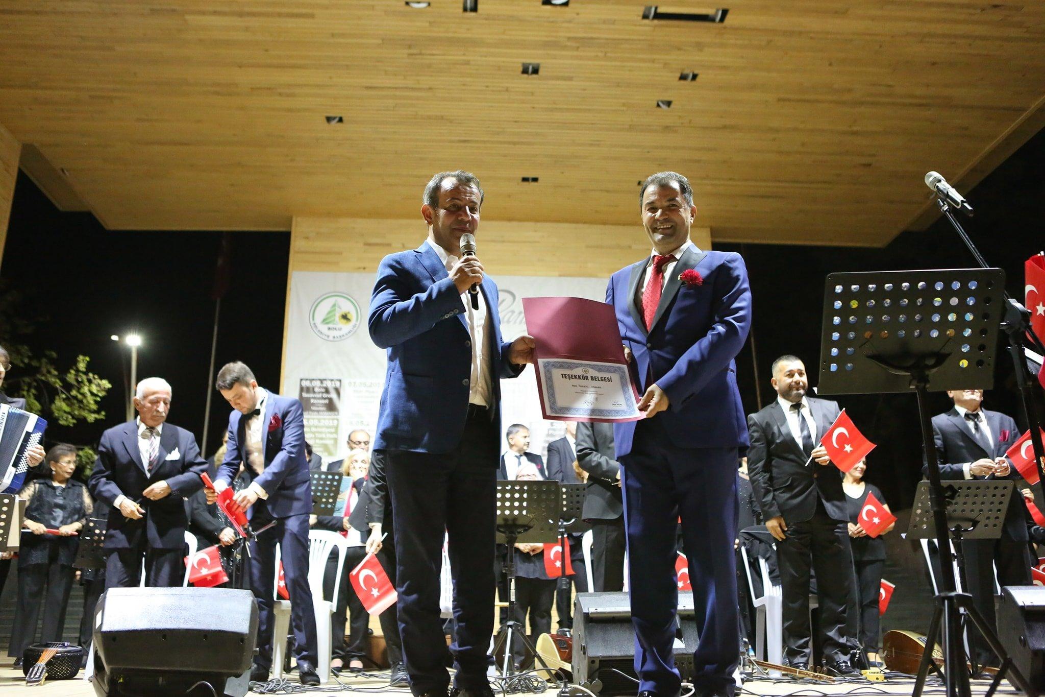Photo of Türk Halk Müziği Bahar Konseri büyük beğeni aldı