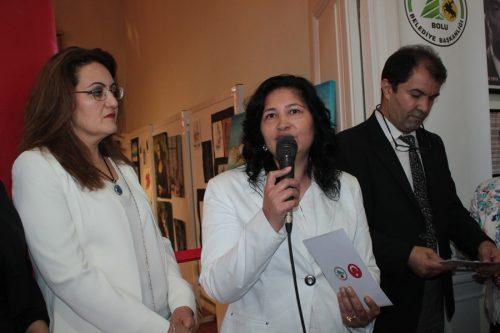 Photo of Bolu Belediyesi Ressam Mehmet Yücetürk Sanat Merkezi Sene Sonu Sergisi Açıldı